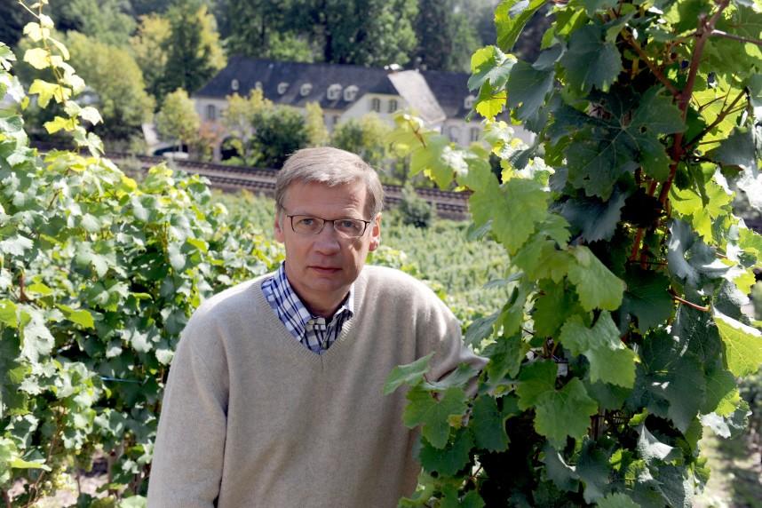 Günther Jauch auf seinem Weingut