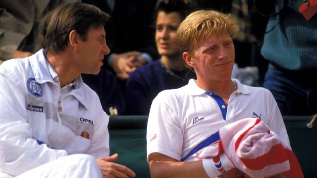 Boris Becker Niki Pilic
