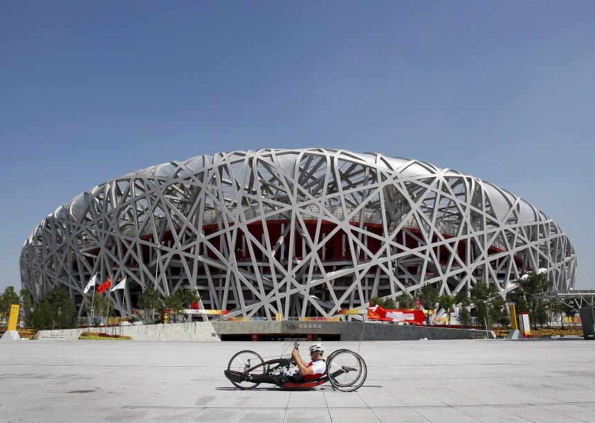 Olympiastadion in Peking, 2008