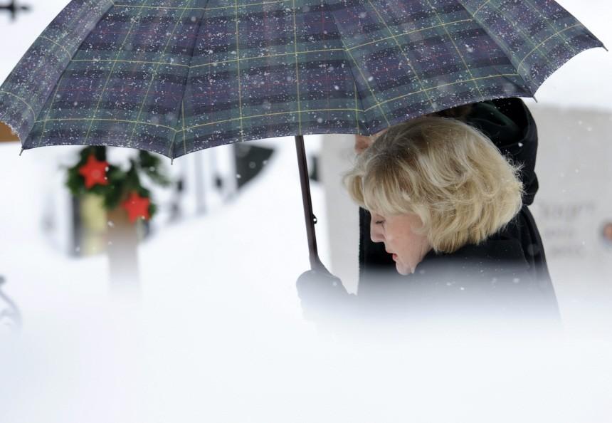 Beisetzung Maria Hellwig