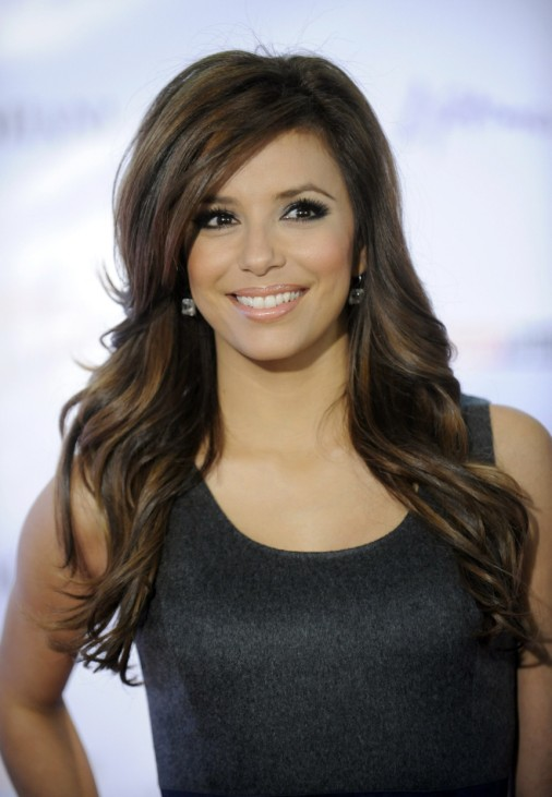 Actress Eva Longoria Parker attends the Hollywood Reporter's annual Women in Entertainment Breakfast in Los Angeles
