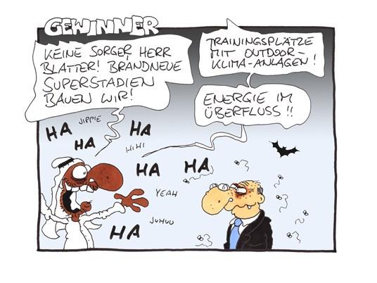 Sport Comic Gewinner