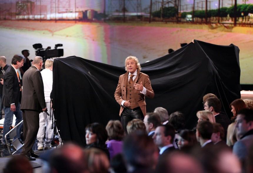 "ZDF-Show ´Wetten, dass...?"" nach Unfall abgebrochen"