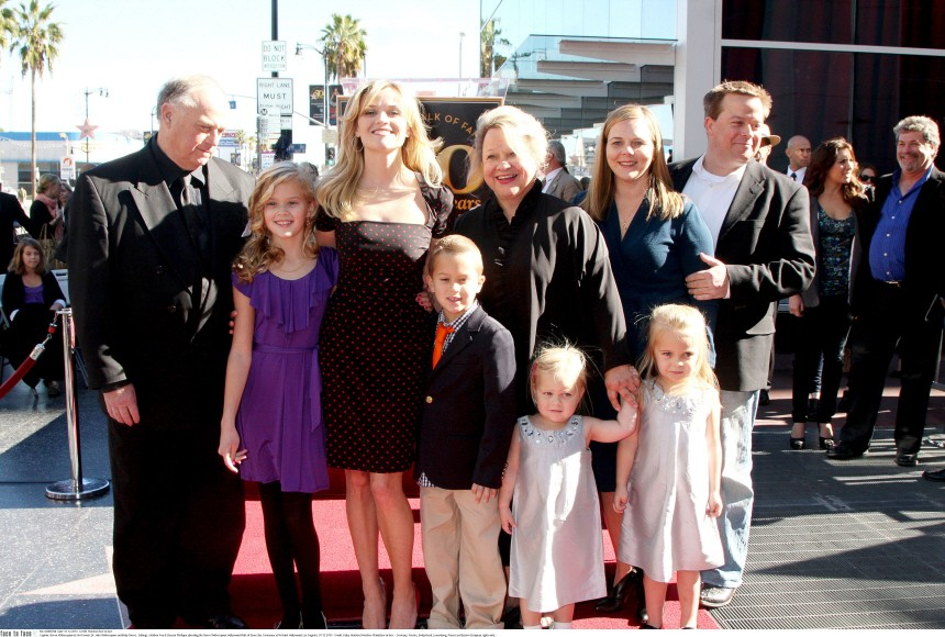 at the Reese Witherspoon Hollywood Walk of Fame Star Ceremony