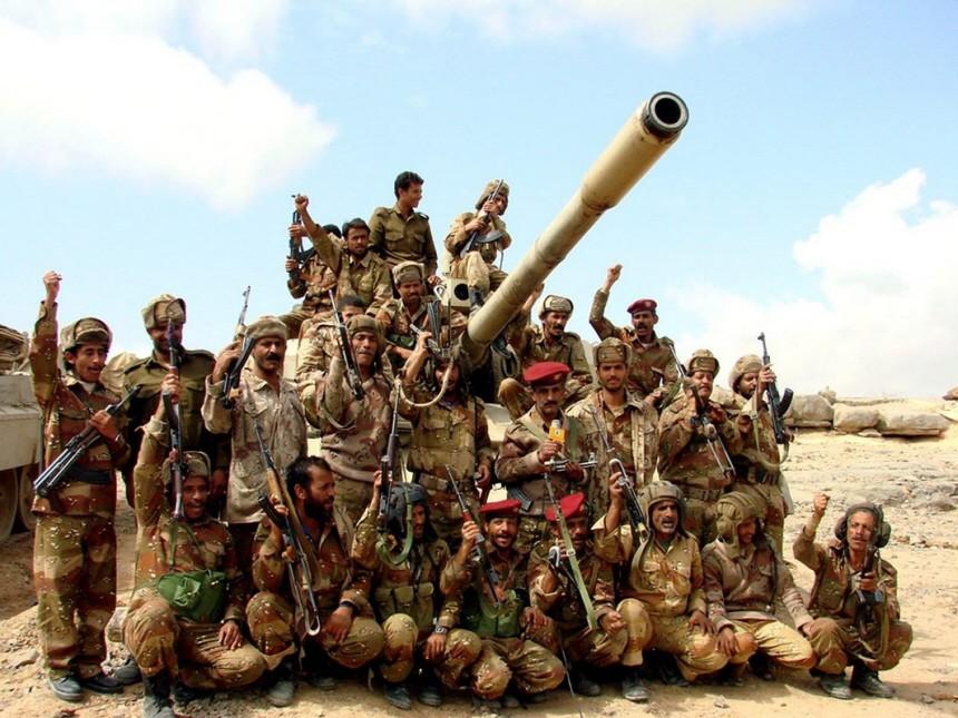 Jemenitische Soldaten