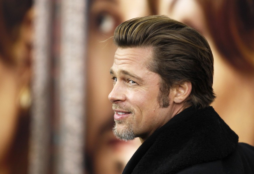 Actor Brad Pitt arrives for the premiere of 'The Tourist' in New York