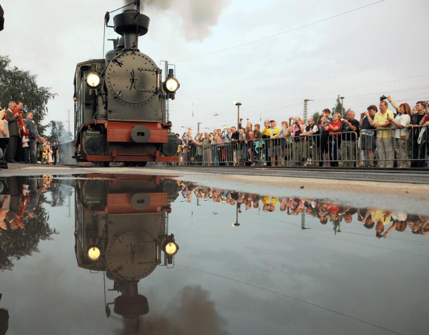 Neubau der sächsischen Schmalspurdampflok IK