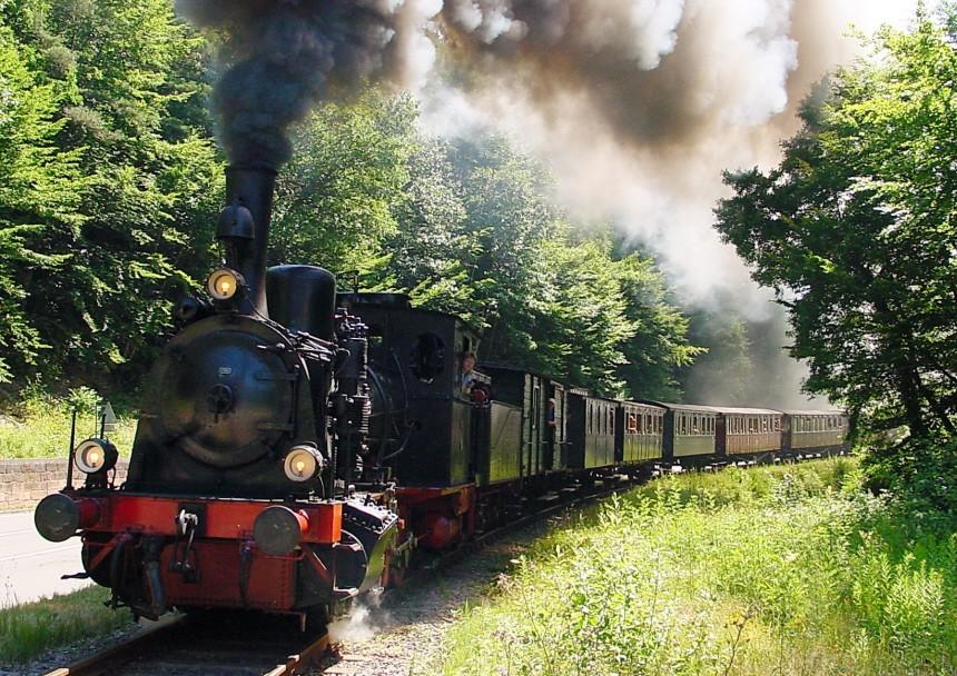 Kuckucksbähnel dampft seit 25 Jahren durch Pfalz