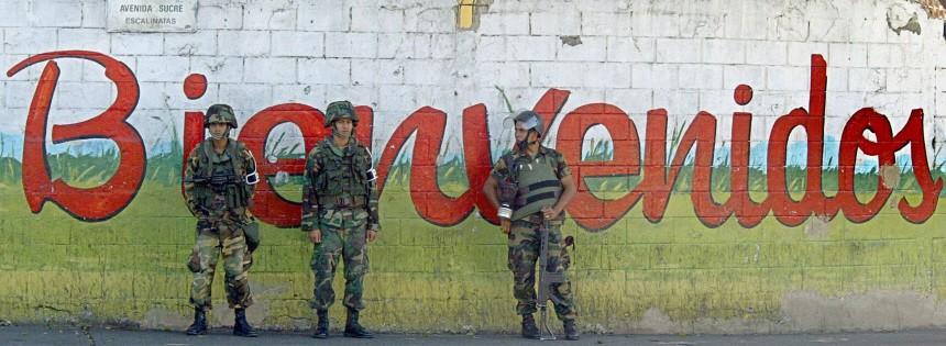 VENEZUELA-OPPOSITION-MARCH-POLICE