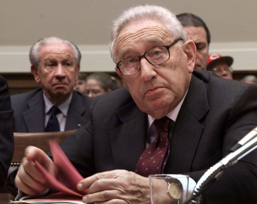SAMARANCH KISSINGER