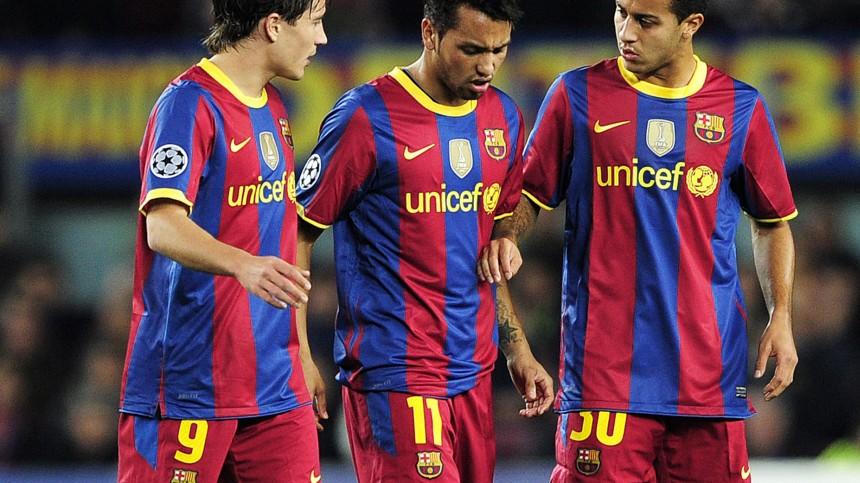 Fc Barcelona Trikotwerbung Tabubruch Fur 165 Millionen Sport Sz De