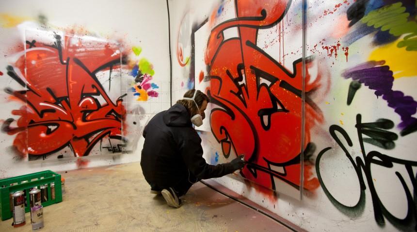 Graffiti-Künstler stellen am Wochenende in Chemnitz aus