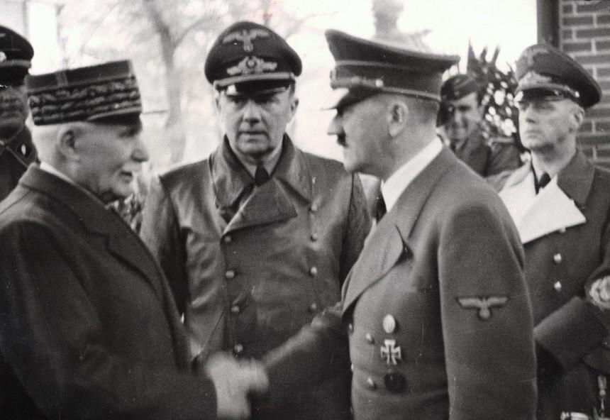 Hitler und Petain, 1940