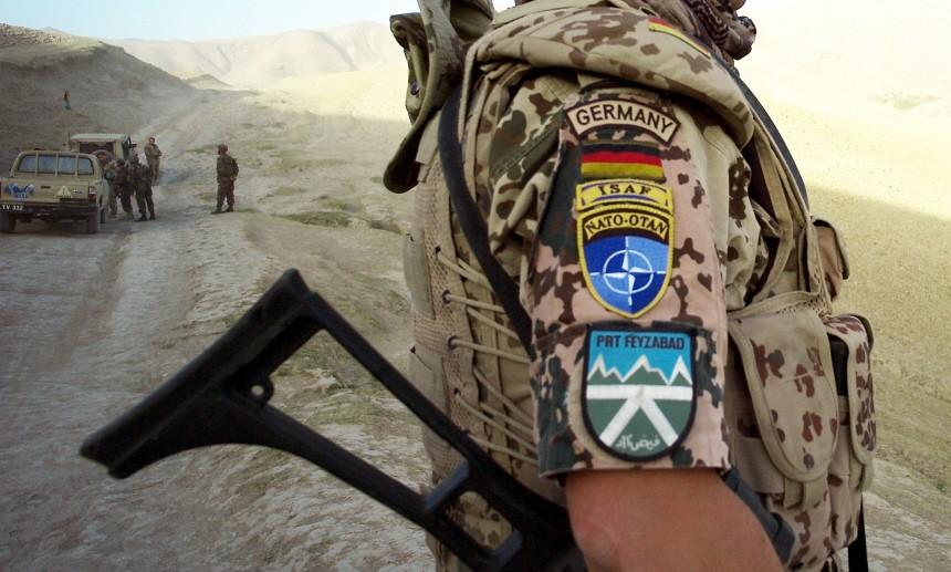 Deutscher Soldat in Afghanistan