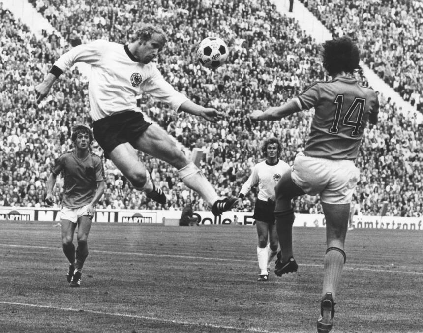Fußballweltmeisterschaft 1974: Finale Deutschland - Niederlande: 2:1