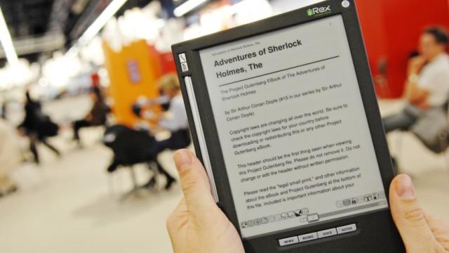 Themendienst Multimedia: Viele E-Book-Reader sind augenfreundlich dank elektronischer Tinte