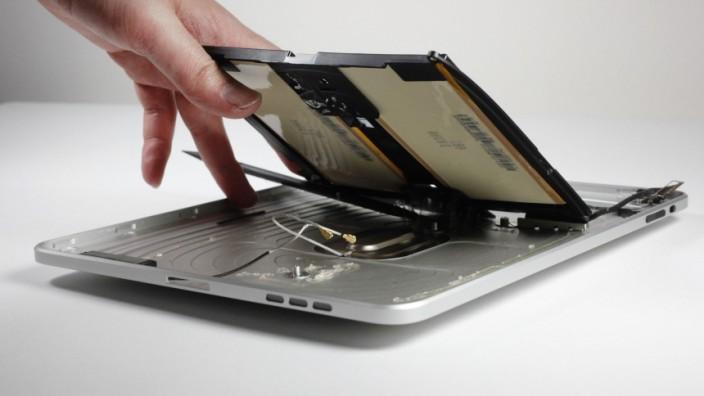Studie zeigt absichtlichen Verfall von Elektrogeräten