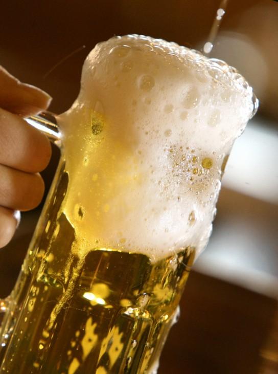Feiern zum 'Tag des Bieres' am 23. April