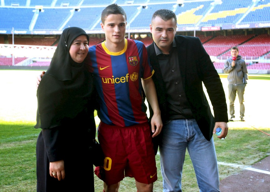 BARCELONA PRESENTS SUTCH IBRAHIM AFELLAY