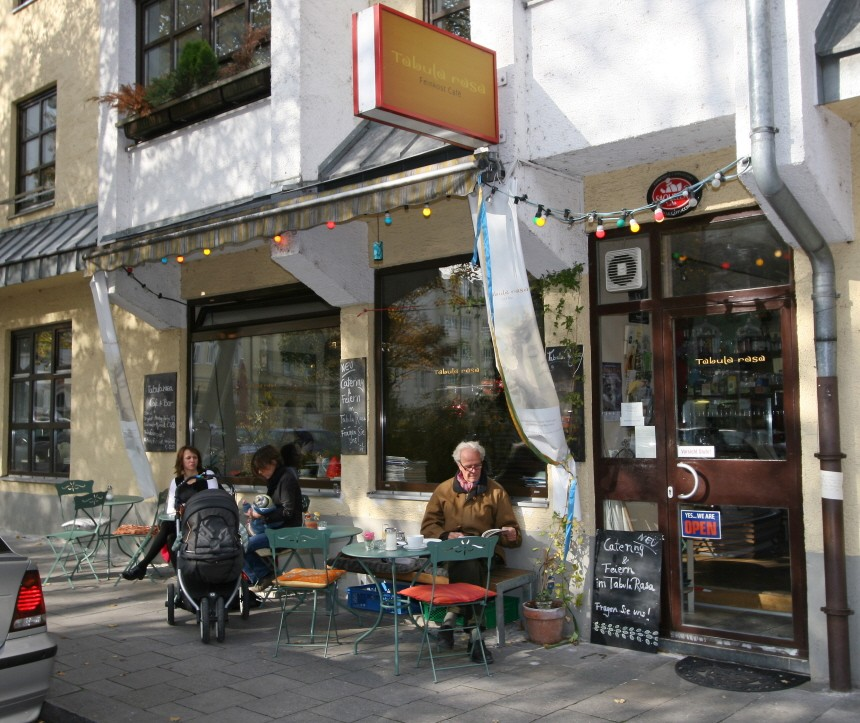 Cafe in München, 2007
