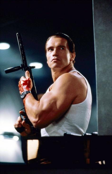 """Arnold Schwarzenegger in """"DER CITY-HAI"""""""