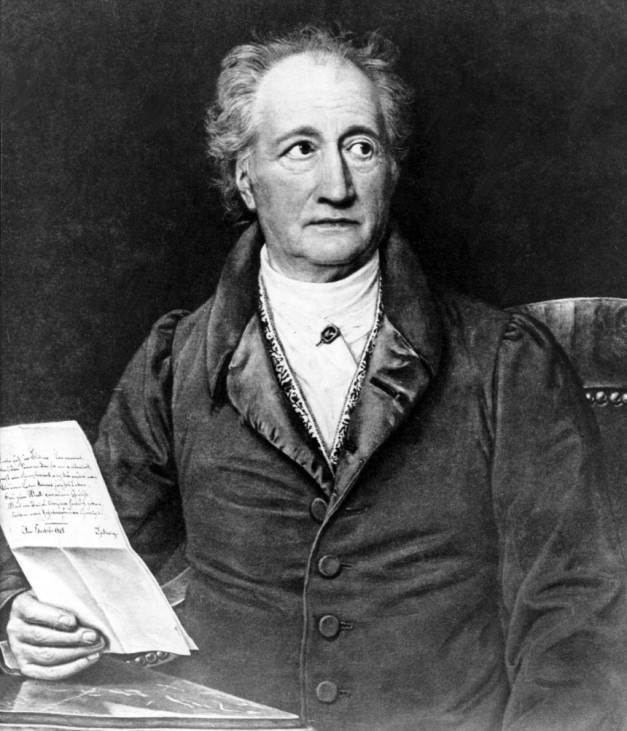 Johann Wolfgang von Goethe, 1828