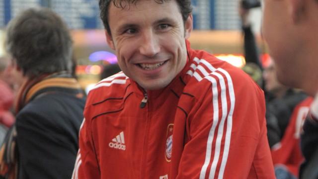 Trainingslager FC Bayern München - Abflug