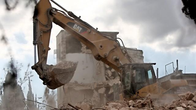 Demolition of the Shepherd Hotel in East Jerusalem