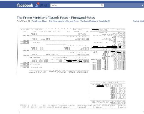 Netanjahu Einkommen Facebook