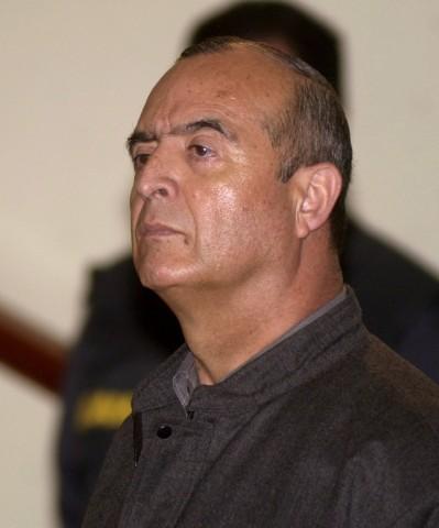 Vladimiro Montesinos  im Gerichtssaal, 2002