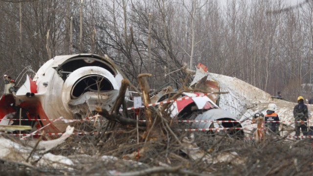Jahresrueckblick April 2010: Polens Praesident Kaczynski stirbt bei Flugzeugabsturz
