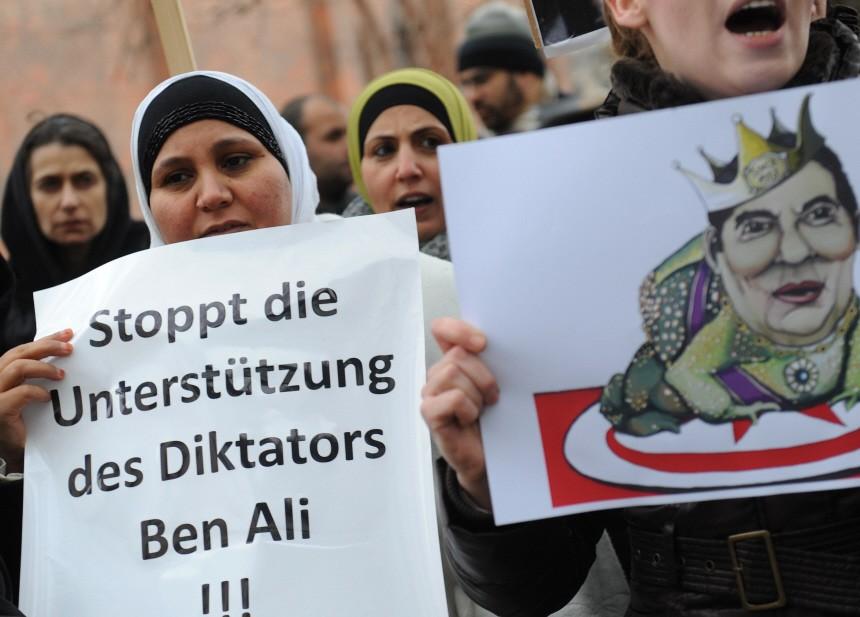 Demonstration gegen tunesischen Präsidenten
