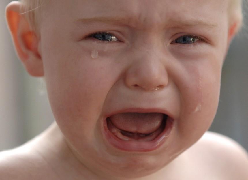 Schreikinder nerven Eltern