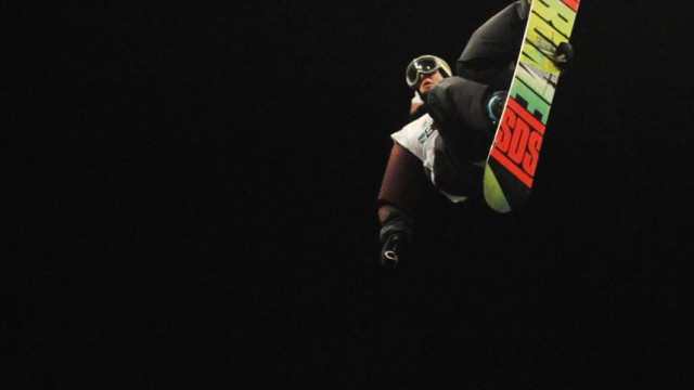 Snowboardwettkampf