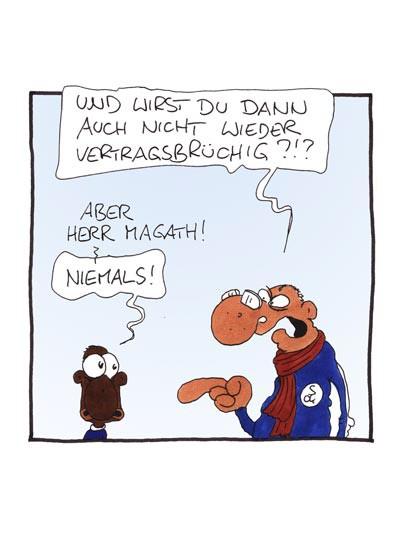 Fussball Comic, Fussballgötter,