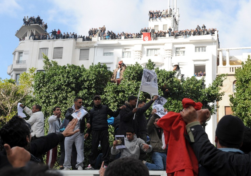 TUNISIA-POLITICS-UNREST
