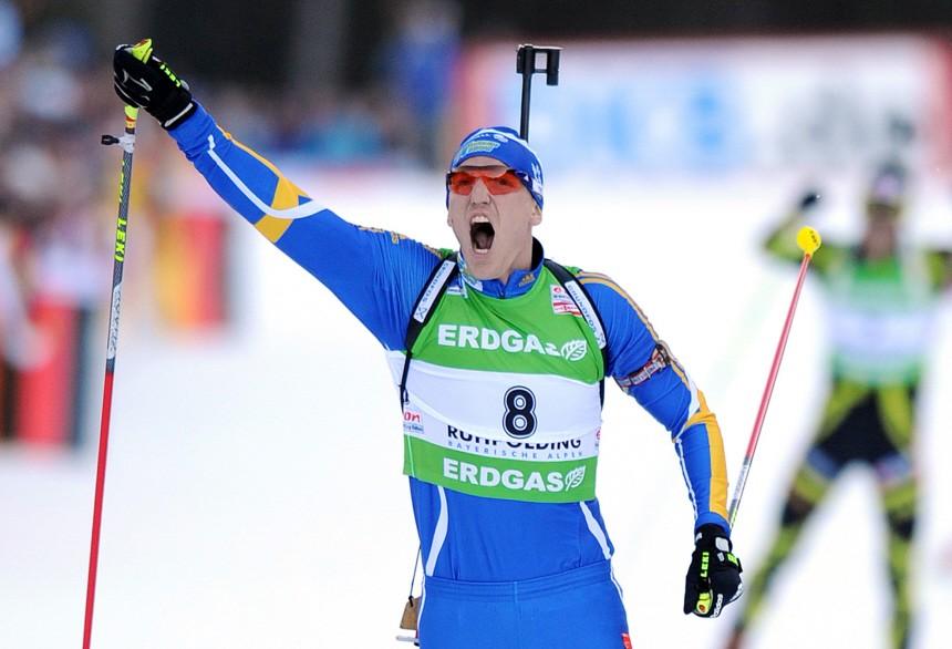 Biathlon-Weltcup Ruhpolding - Björn Ferry