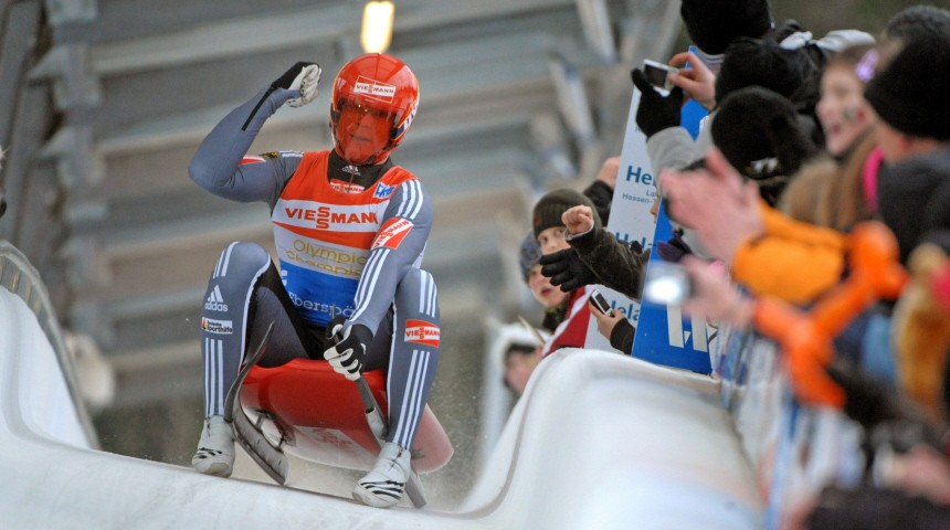 Rodeln Weltcup Oberhof - Felix Loch