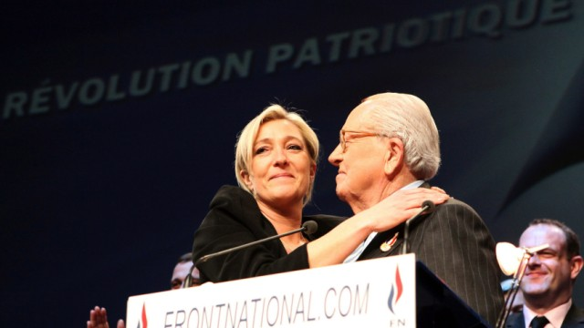 Front National annual congress in Tours