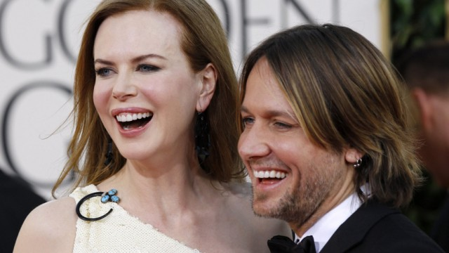 File photo of Nicole Kidman and Keith Urban in Beverly Hills
