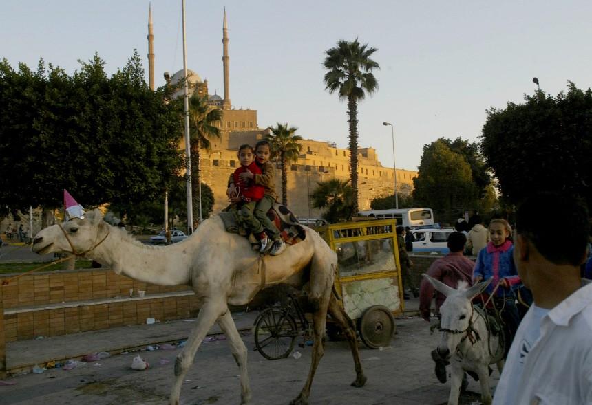 EGYPT-ISLAM-EID AL-ADHA