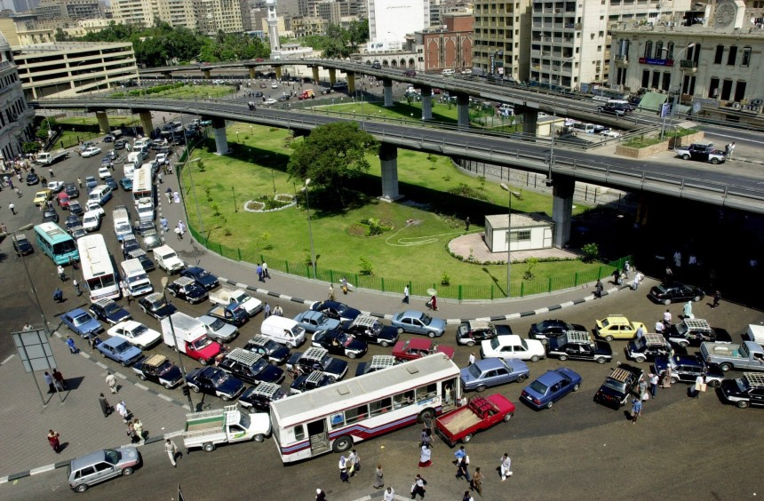 Stau in Kairo
