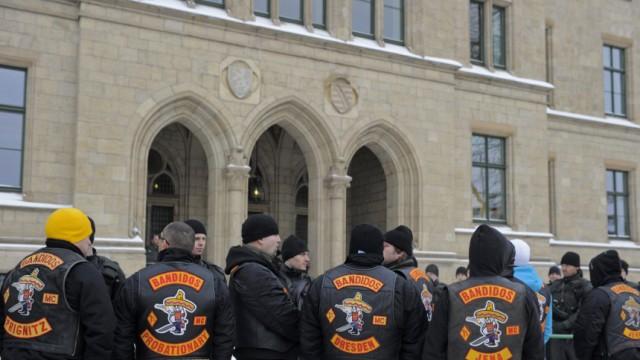 Prozessauftakt gegen sechs Mitglieder der 'Bandidos'
