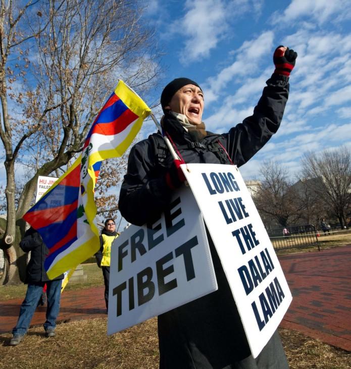 US-CHINA-TIBET-PROTEST