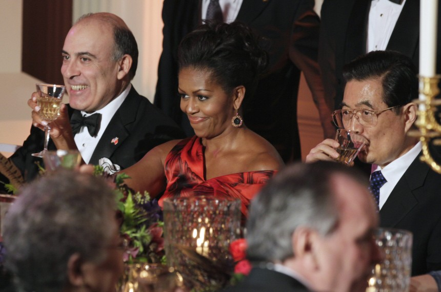 Muhtar Kent, Michelle Obama, Hu Jintao