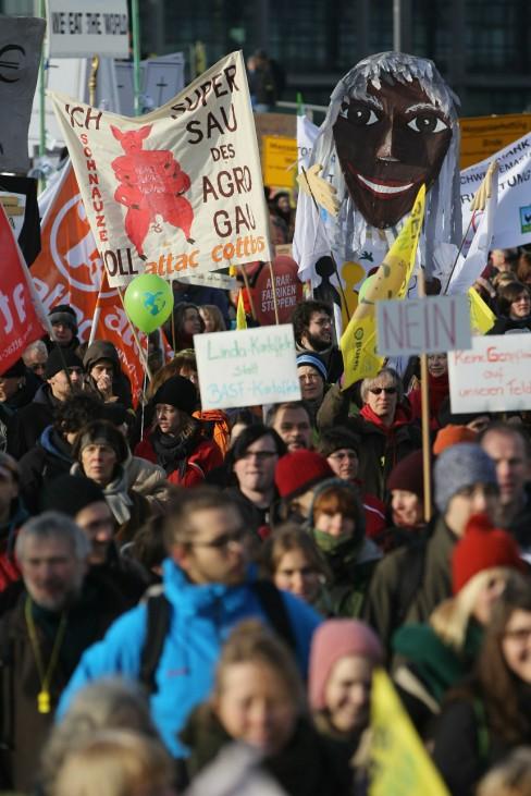 Anti-Agro Industry Demonstration