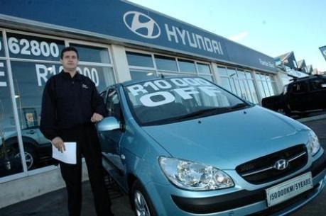 Weltspiegel (23): Automarkt Südafrika Robert Thompson