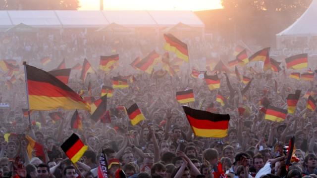 WM 2010 - Fans in Hamburg