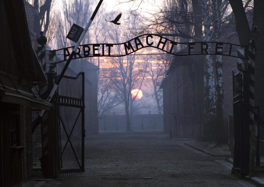 """""""Arbeit macht frei"""" KZ Auschwitz"""