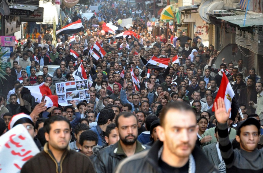Protests in Alexandria